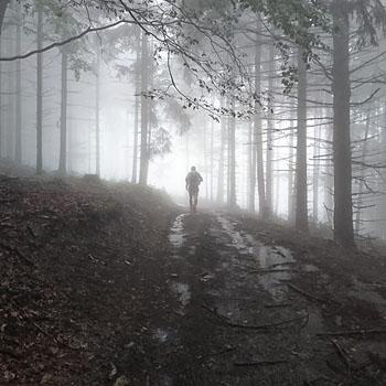 Trening w Górach Świętokrzyskich